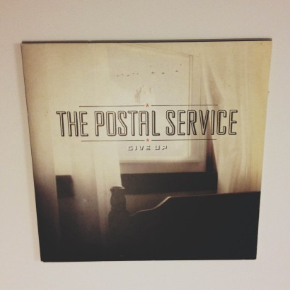 Postal Service Give Up cover